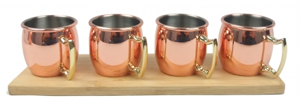Set 4 Mini Mugs